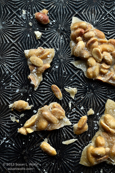 Peanut Praline with Sea Salt