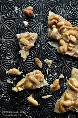 peanut praline