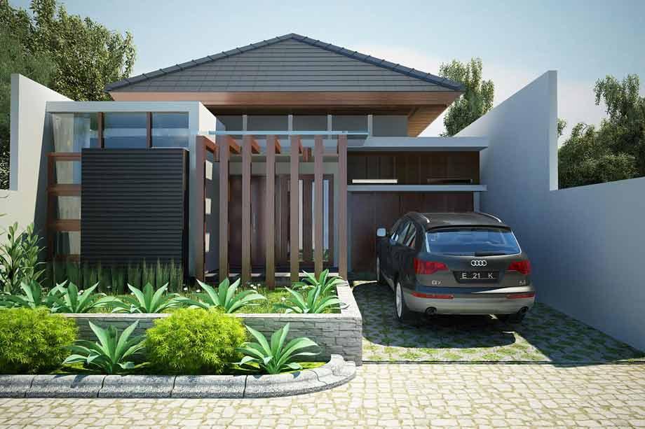 gambar rumah modrn