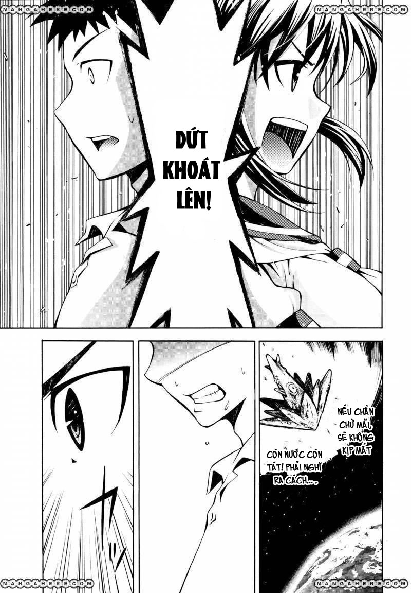Meteo-san Sutoraiku desu! chap 2 - Trang 34