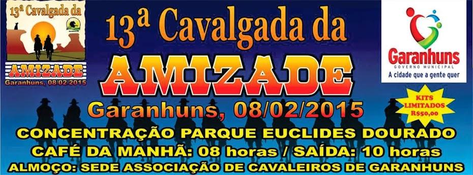 PARTICIPE DA CAVALGADA DA AMIZADE