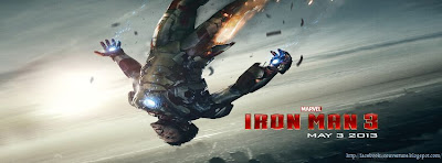 Couverture facebook Iron Man 3