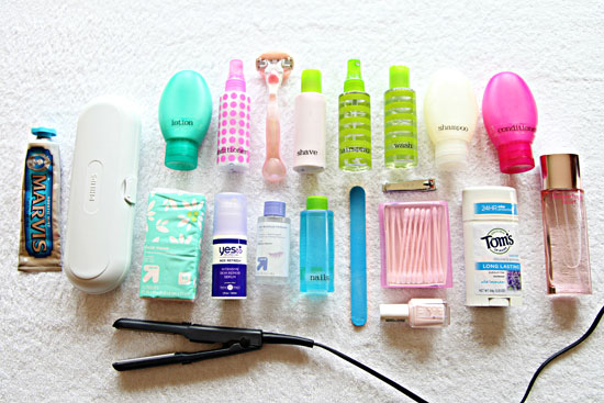 Iheart organizing monthly organizing challenge traveling with toiletries - Toiletgrijs ...
