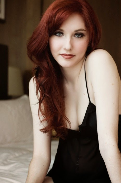 auburn red hair color idea