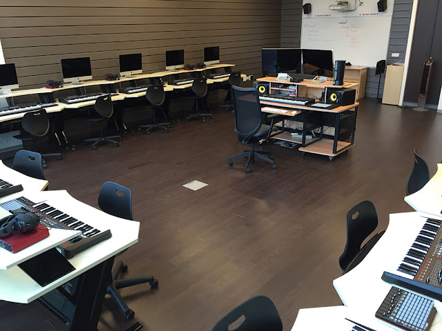 gc pro, education, music lab, computers, microphones, speakers