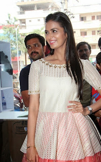 Actress Meenakshi Dixit Latest Pictures at Yes Mart Launch  20.jpg
