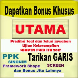 Bonus Khusus Utama