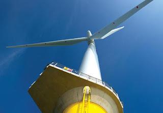 turbina eolica marina