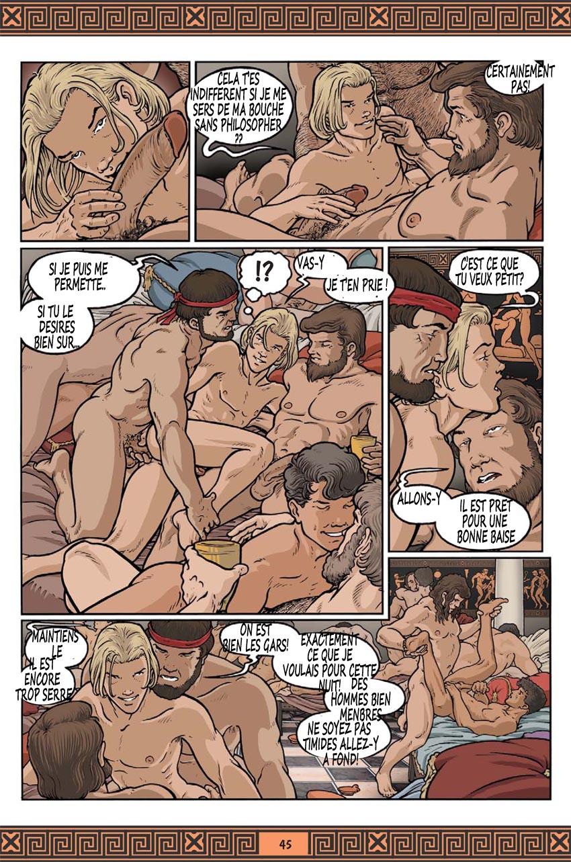 Gay orgy ian gives hayden a huge boycrush 4