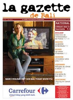 la gazette de bali mai 2011