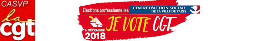 Le syndicat CGT des personnels du Centre d'Action Sociale de la Ville de Paris (CASVP)