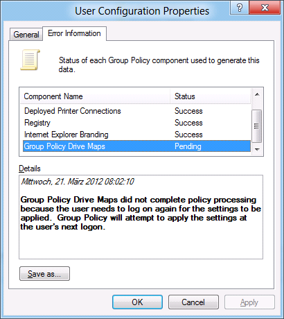 Let's go, use GPO!: Windows 8: GPP Drive Mapping als Administrator on