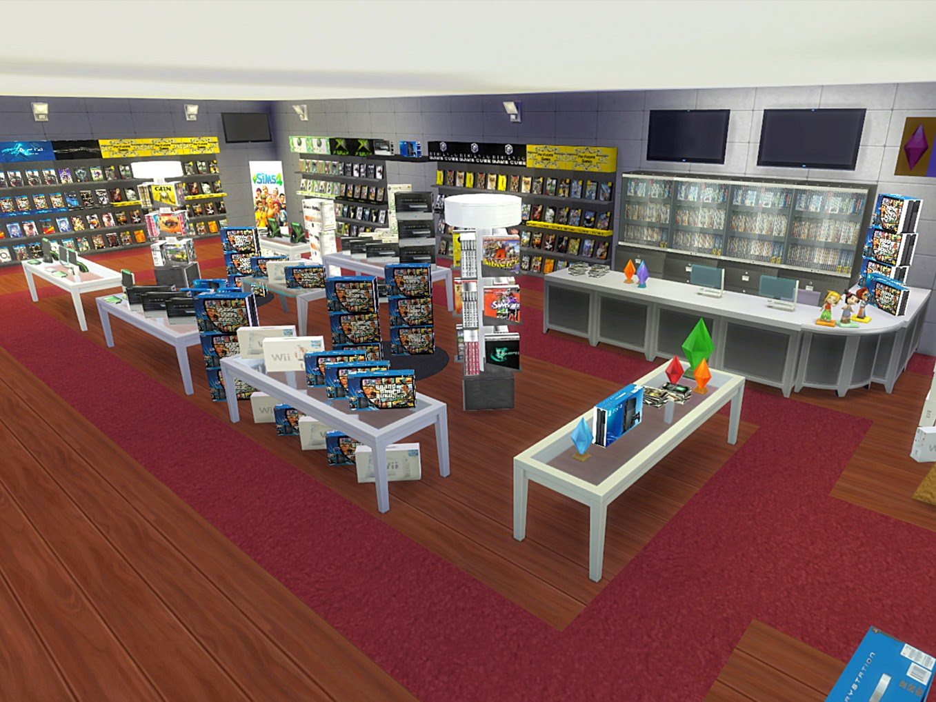 Sims  Clothing Store Items