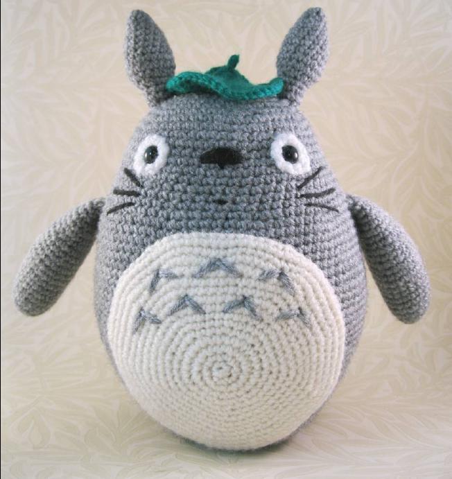 Totoro En Amigurumi : Patrones Amigurumi Gratis: Totoro Amigurumi - Mi vecino Totoro