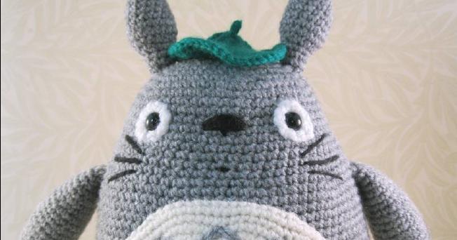 Patrones Amigurumi Gratis: Totoro Amigurumi - Mi vecino Totoro