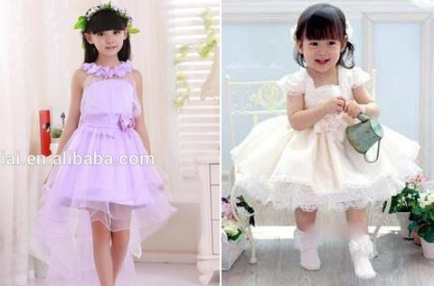 gambar baju pesta anak perempuan