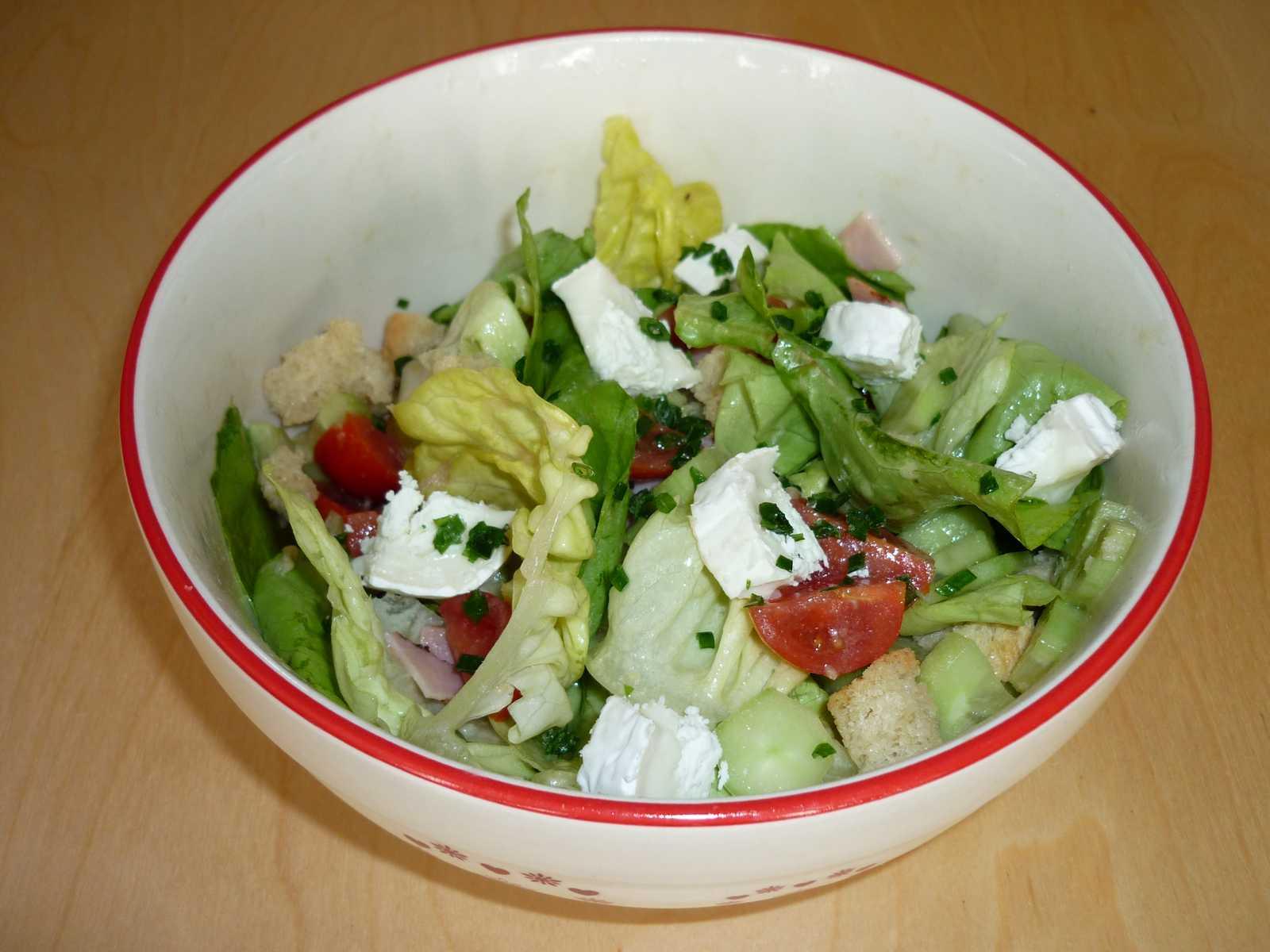 Le blog 39 art d 39 aurore - Salade verte composee ...