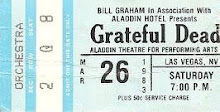Grateful Dead Aladdin Theatre for performing Arts Las Vegas NV. 3-26-1983