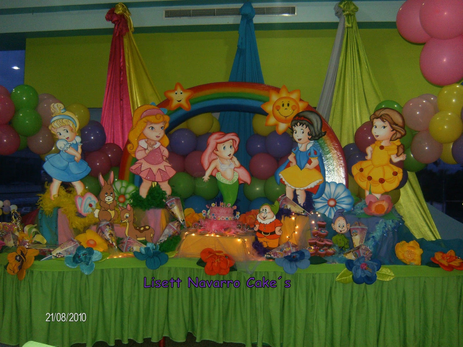 MuyAmeno.com: Fiestas Infantiles Princesas Bebes, parte 1