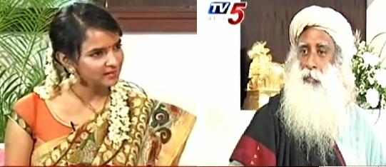 Jaggi vasudev wife with the life laxmi manchu interview with