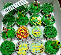 soccer themed cuppies