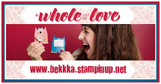 Get the Beautiful Whole Lot of Love Valentines Products from Stampin' up! at www.bekka.stampinup.net   They are great for way more than Valentines