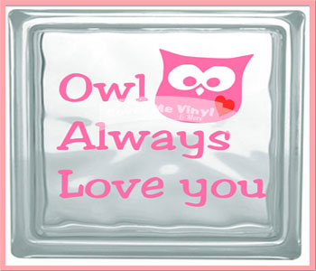 Owl Always Love You Cube Light