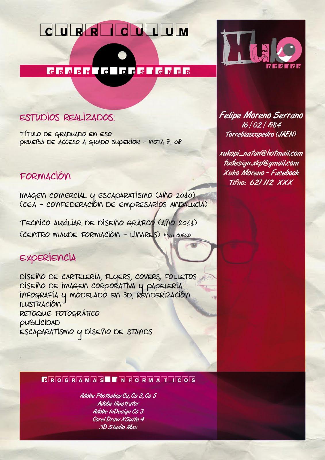 3 - Felipe Moreno - Diseñador Gráfico: Ejercicio InDesign nº 7 ...