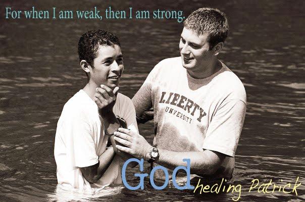 God Healing Patrick