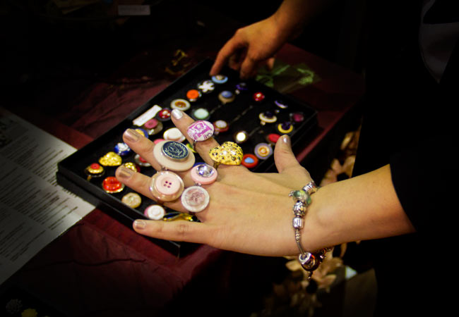 Button Rings, Make it Handmade revolution