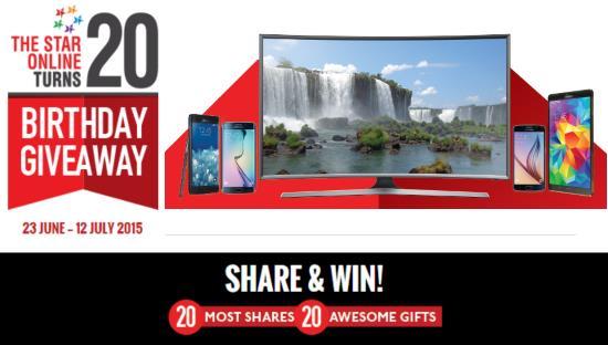 Samsung tv giveaway