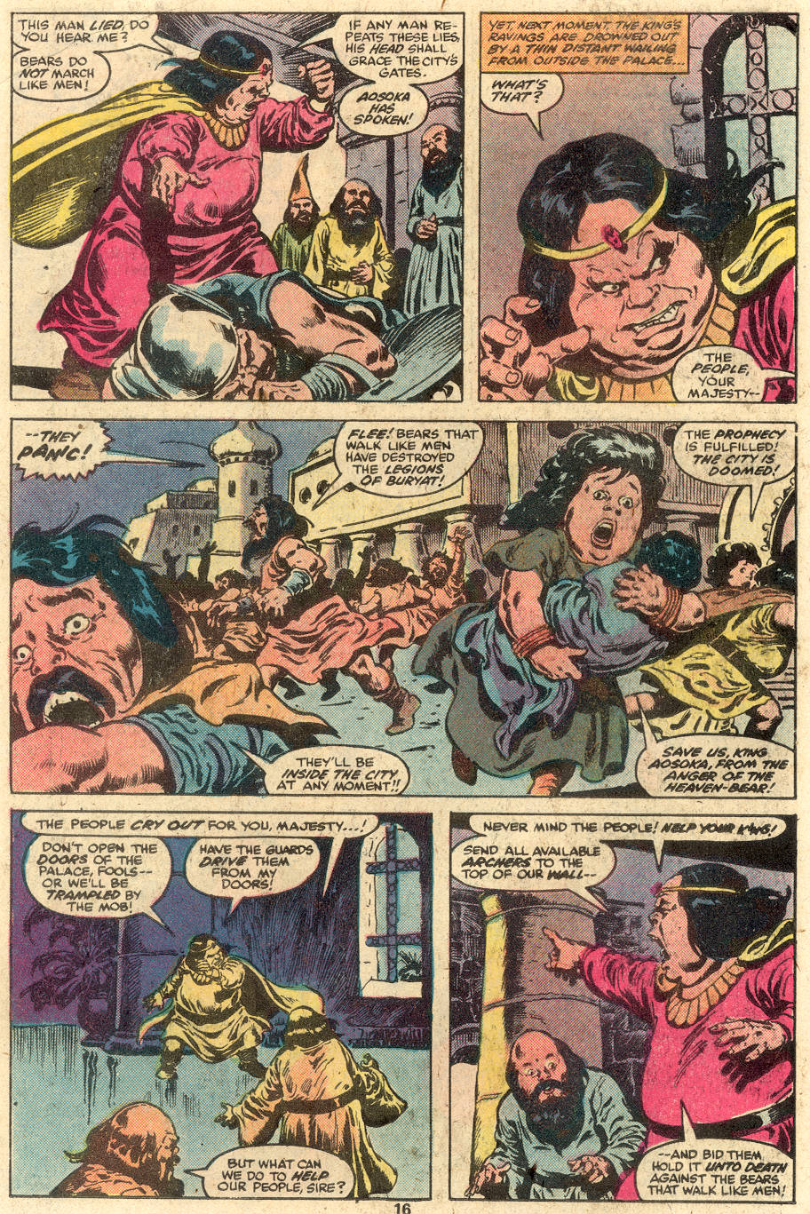 Conan the Barbarian (1970) Issue #112 #124 - English 11