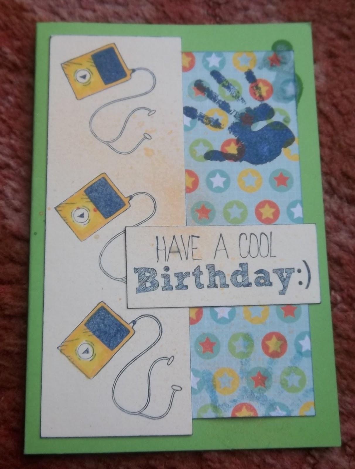 Alizabethy Card Making Addict A Few Cool Birthday Cards