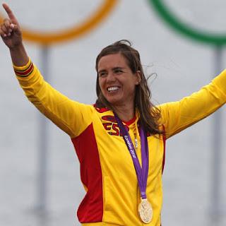 Marina Alabau medalla de oro windsurf en Vela  RSX España Juegos Olímpicos de Londres 2012