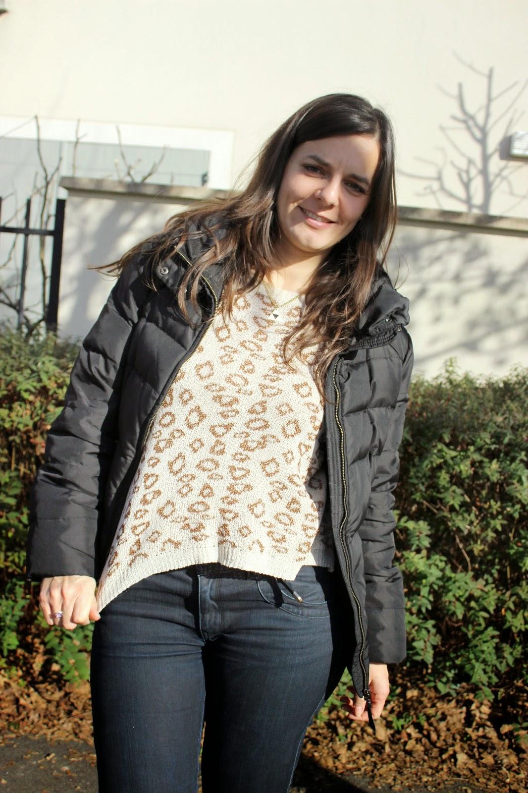 imprimé léopard, top et chaussures suncoo