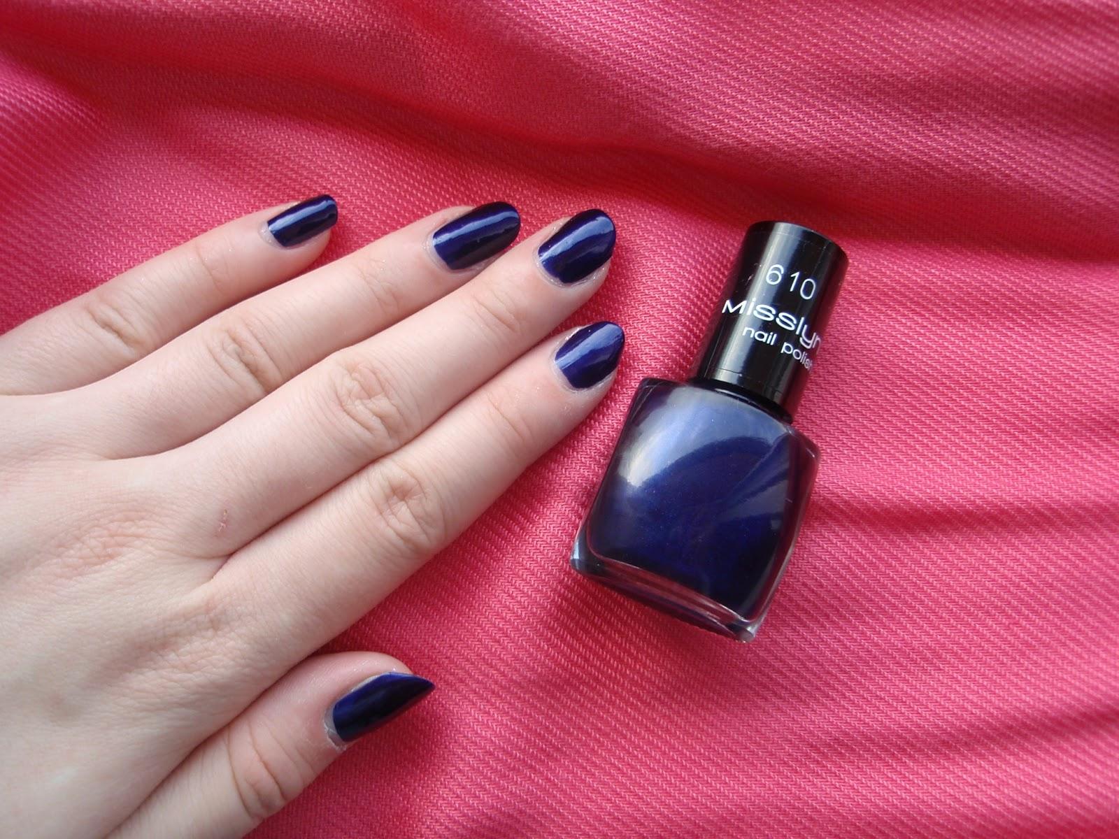 Beauty Blog: [NotD] Misslyn Nail Polish- 610 Night Club