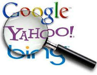 Search Engine Google, Yahoo, Bing