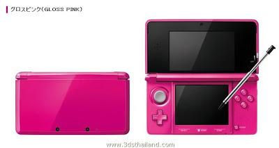 Nintendo 3DS Gloss Pink