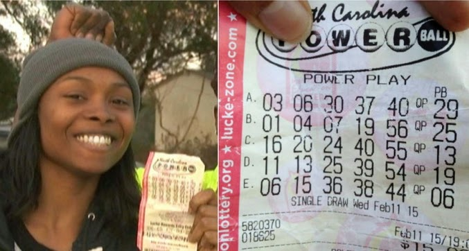 Meet marie holmes single mother of 4 188million powerball lottery