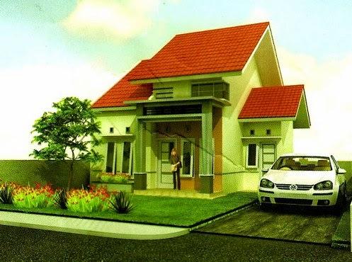 gambar desain - denah rumah minimalis type 54 terbaru 2015