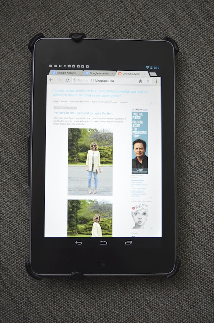 Google Nexus 7 32GB - Tablet Review. Great Gift for Dad