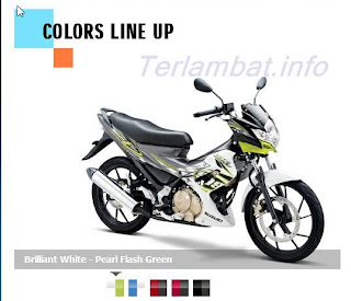 Satria FU 150 Hijau (Flash Green)
