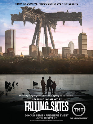 "Falling Skies Season 2 One Sheet Television Poster - ""We're not just fighting for our lives. We're fighting for our existence."""