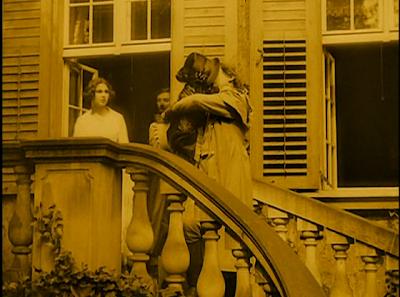 Ellen (Greta Schröder) Bids Goodbye to Her Husband Hutter (Gustav von Wangenheim), Nosferatu, Directed by F. W. Murnau