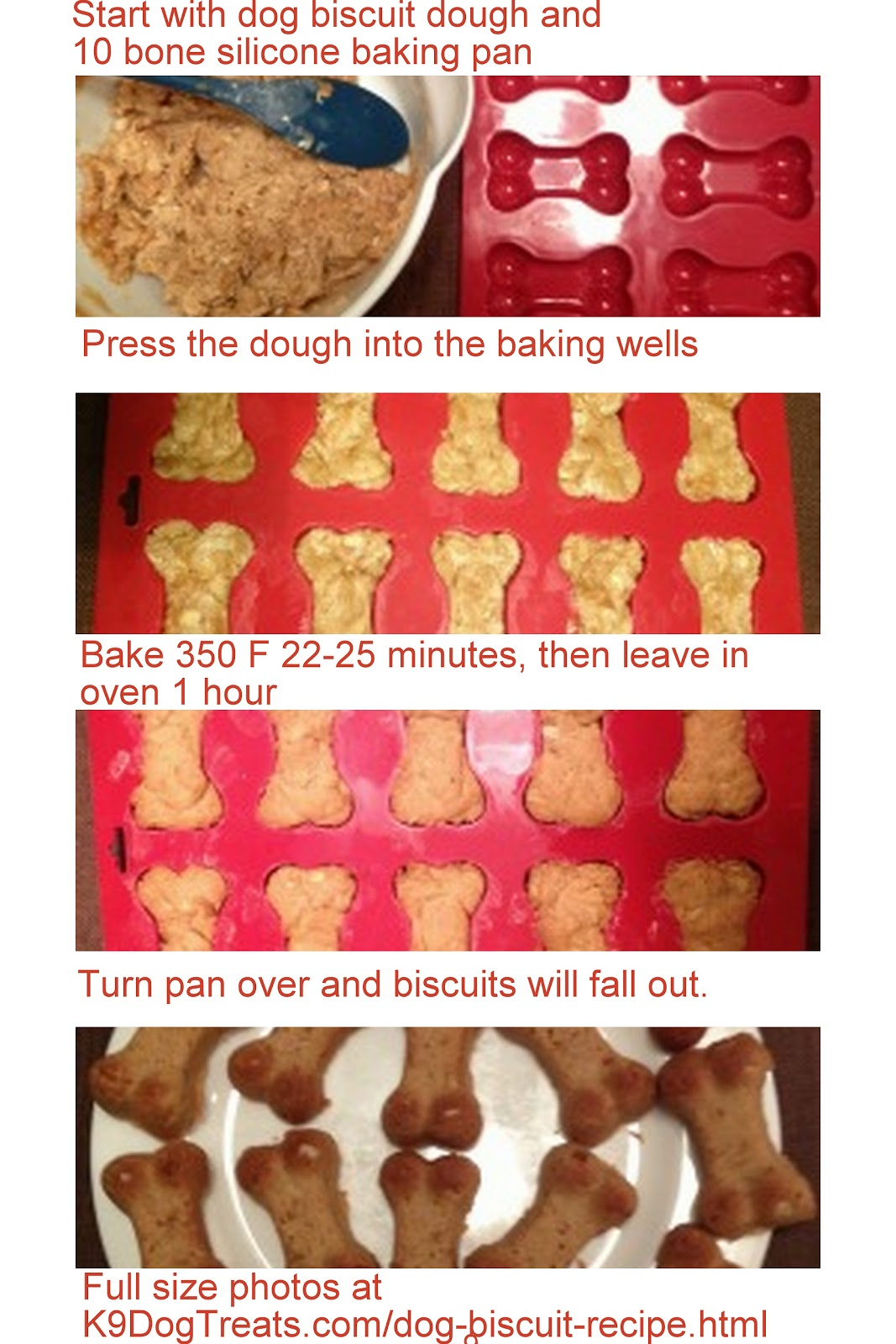 Dog biscuit recipe