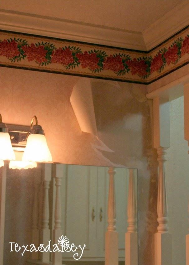 Homemade wallpaper remover recipe that makes removing wallpaper easier