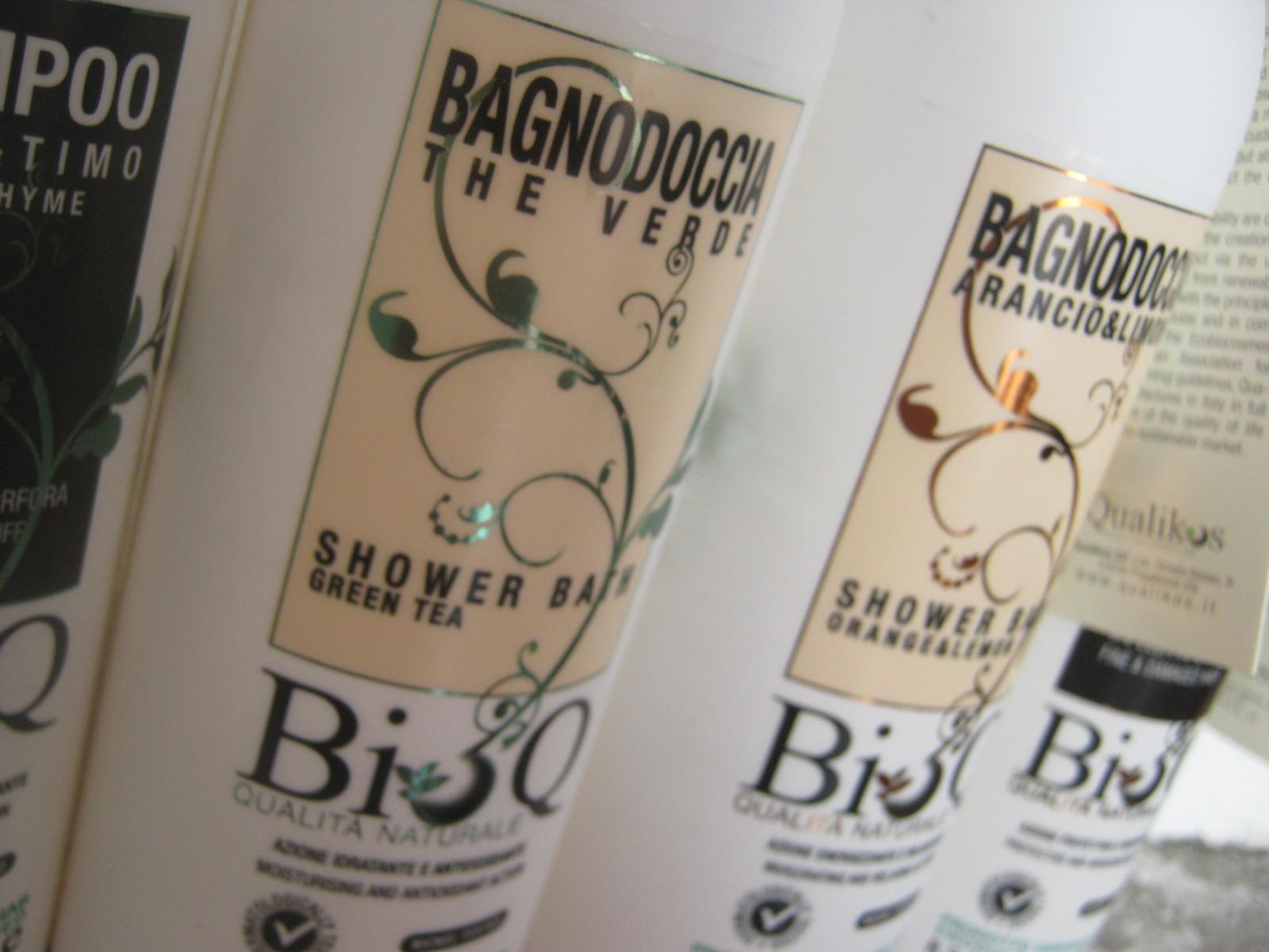 Erbe frutti e spezie shampoo e bagnoschiuma bio q con un - Bagno alla paraffina ...