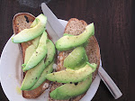 avocado on sonoma spelt sourdough