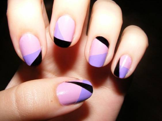 Nail design ideas with two colors gallery nail art and nail double color nail art image collections nail art and nail design nail art two colors choice prinsesfo Gallery