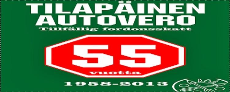 autovero 55 vuotta